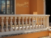 Beautful Balcony With Classic Marble