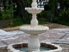A Classic Marble Fountain Says Welcome